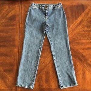 Lauren Ralph Lauren ankle jeans pants size 6P